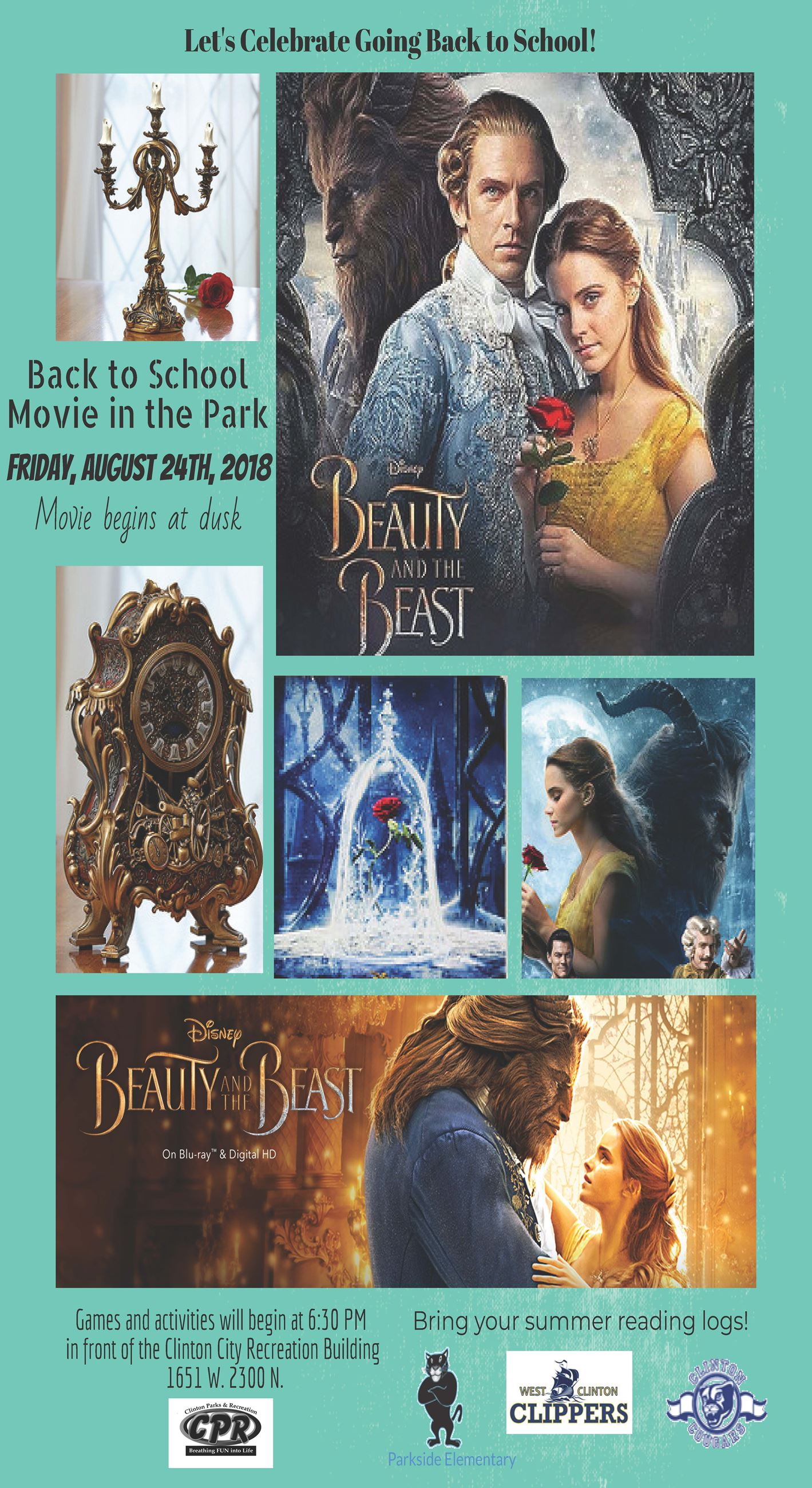Beauty and the beast updated flier