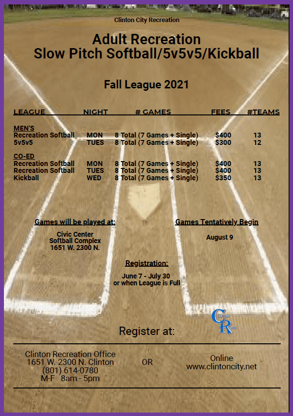 2021 Fall League